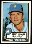 1952 Topps Reprints #219   Bobby Shantz Front Thumbnail