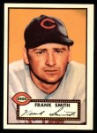 1952 Topps Reprints #179  Frank Smith  Front Thumbnail