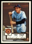 1952 Topps Reprints #296  Red Rolfe  Front Thumbnail