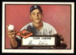 1952 Topps Reprints #342   Clem Labine Front Thumbnail