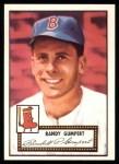 1952 Topps Reprints #247  Randy Gumpert  Front Thumbnail