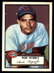 1952 Topps Reprints #161  Bud Byerly  Front Thumbnail