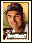 1952 Topps Reprints #124  Monte Kennedy  Front Thumbnail
