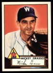 1952 Topps Reprints #90  Mickey Grasso  Front Thumbnail
