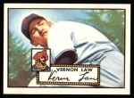 1952 Topps Reprints #81   Vern Law Front Thumbnail