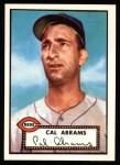 1952 Topps Reprints #350  Cal Abrams  Front Thumbnail
