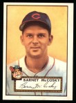 1952 Topps Reprints #300  Barney McCosky  Front Thumbnail