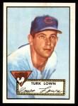 1952 Topps Reprints #330   Turk Lown Front Thumbnail