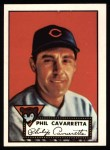 1952 Topps Reprints #295  Phil Cavarretta  Front Thumbnail