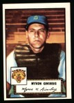 1952 Topps Reprints #192  Myron Ginsberg  Front Thumbnail