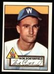 1952 Topps Reprints #301   Bob Porterfield Front Thumbnail