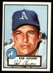 1952 Topps Reprints #340  Bob Hooper  Front Thumbnail