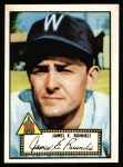 1952 Topps Reprints #2  Pete Runnels  Front Thumbnail
