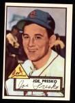 1952 Topps Reprints #220  Joe Presko  Front Thumbnail