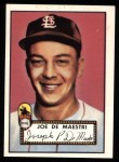 1952 Topps Reprints #286  Joe DeMaestri  Front Thumbnail