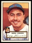 1952 Topps Reprints #217  Snuffy Stirnweiss  Front Thumbnail