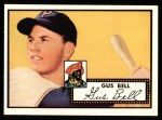 1952 Topps Reprints #170   Gus Bell Front Thumbnail