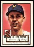 1952 Topps Reprints #236  Ed Fitzgerald  Front Thumbnail
