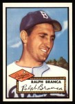 1952 Topps Reprints #274   Ralph Branca Front Thumbnail