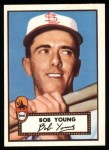 1952 Topps Reprints #147  Bob Young  Front Thumbnail