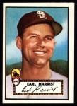 1952 Topps Reprints #402  Earl Harrist  Front Thumbnail