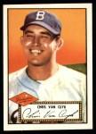 1952 Topps Reprints #53  Chris Van Cuyk  Front Thumbnail