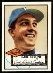 1952 Topps Reprints #250   Carl Erskine Front Thumbnail