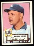 1952 Topps Reprints #200  Ralph Houk  Front Thumbnail