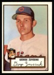 1952 Topps Reprints #199  George Zuverink  Front Thumbnail