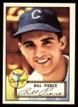 1952 Topps Reprints #98  Billy Pierce  Front Thumbnail