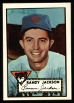 1952 Topps Reprints #322   Randy Jackson Front Thumbnail