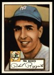 1952 Topps Reprints #11  Phil Rizzuto  Front Thumbnail