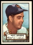 1952 Topps Reprints #392   Hoyt Wilhelm Front Thumbnail