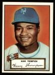 1952 Topps Reprints #3  Hank Thompson  Front Thumbnail