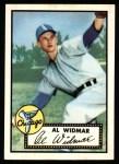 1952 Topps Reprints #133  Al Widmar  Front Thumbnail