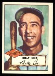 1952 Topps Reprints #232   Billy Cox Front Thumbnail