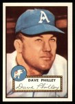 1952 Topps Reprints #226  Dave Philley  Front Thumbnail