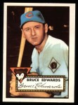 1952 Topps Reprints #224  Bruce Edwards  Front Thumbnail