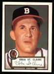 1952 Topps Reprints #393  Ebba St.Claire  Front Thumbnail