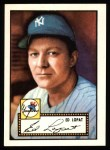 1952 Topps Reprints #57  Eddie Lopat  Front Thumbnail