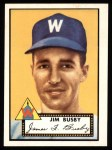 1952 Topps Reprints #309   Jim Busby Front Thumbnail