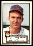 1952 Topps Reprints #270  Lou Brissie  Front Thumbnail