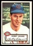 1952 Topps Reprints #249  Bobby Adams  Front Thumbnail