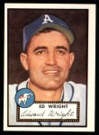 1952 Topps Reprints #368  Ed Wright  Front Thumbnail