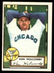 1952 Topps Reprints #95  Ken Holcombe  Front Thumbnail