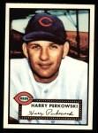 1952 Topps Reprints #142   Harry Perkowski Front Thumbnail