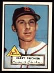 1952 Topps Reprints #263   Harry Brecheen Front Thumbnail