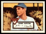 1952 Topps Reprints #148   Johnny Klippstein Front Thumbnail