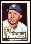 1952 Topps Reprints #214   Johnny Hopp Front Thumbnail