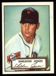 1952 Topps Reprints #130  Sheldon Jones  Front Thumbnail